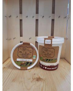Crème glacée Chocolat Fermière  de Souzy - direct producteur