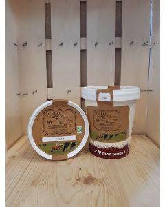 Crème glacée Caramel Fermière  de Souzy -direct producteur-550ml