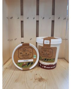 Sorbet au yaourt Poire Fermière  de Souzy- direct producteur
