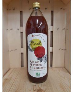 Jus de pommes framboises 1L (5,50€/L)