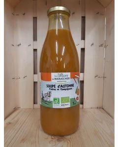 Soupe d'automne potiron champi 1L (6,10€/L)