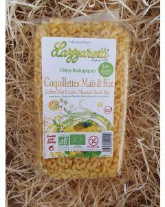 Pâte SANS GLUTEN Coquillettes Maïs et Riz 500g (9,60€/kg)