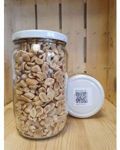 Cacahuète grillée non salée 420g -consigné (10,43€/kg)