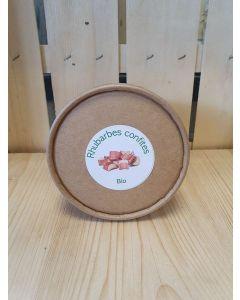 Encas de Rhubarbe confite 80g (Bonbon artisanal) (50,00€/kg)