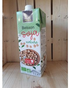 Boisson au soja nature 1L