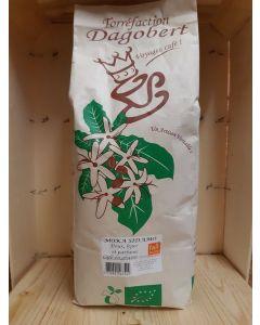 Café Grain 1kg Moka Sidamo, doux léger parfumé (18,50€/kg)