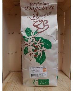Café Moulu 1kg Moka Sidamo, doux léger parfumé (18,50€/kg)
