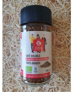 Café soluble équitable 100g (87,00€/kg)