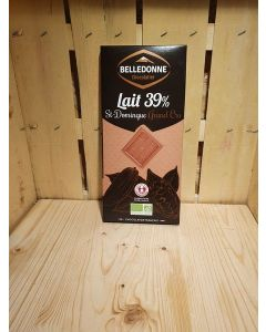 Chocolat au lait St Domingue 100g filiere Équitable-Savoie