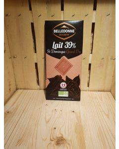 Chocolat au lait St Domingue 100g filiere Équitable-Savoie