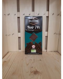 Chocolat noir degustation 74% Équitable-Savoie