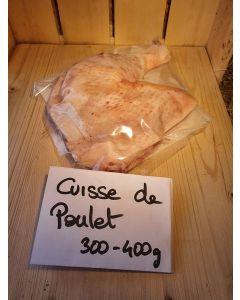 Cuisse Poulet Fermier x1env 500g (17,00€/kg)