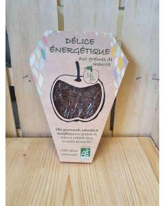 Délice aux pommes Rhodanienne formule énergétique 140g Pâte de fruit SANS GLUTEN