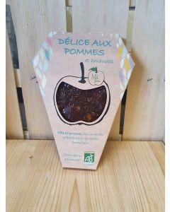Délice aux pommes Rhodanienne et amandes 150g Pâte de fruit SANS GLUTEN