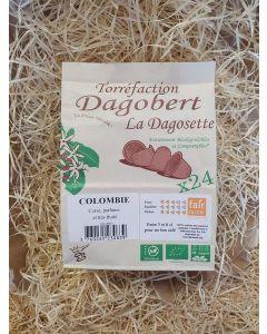 Café dosette 24 capsules Corsé et fruité (Colombie) (0,34€/capsule)