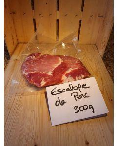 Escalope de porc par 2 x 150g (20,00€/kg)