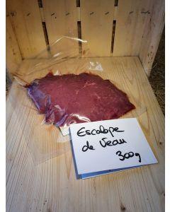 Escalope de veau par 2 x 150g (25,00€/kg)