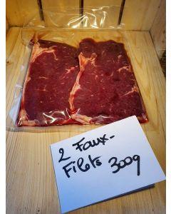 Faux Filet (Bœuf) par 2 x 150g (26,67€/kg)