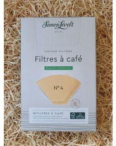 Filtre à café x40 ( Taille Nr4) (0,04€/filtre)