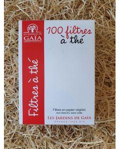 Filtre a thé papier x100 (10x13cm) (0,05€/filtre)