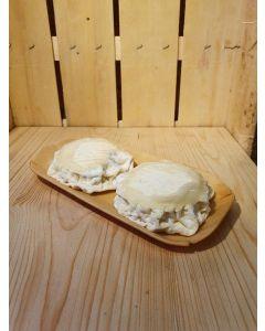 Fromage de brebis affiné crémeux des Monts du Lyonnais 2x60g