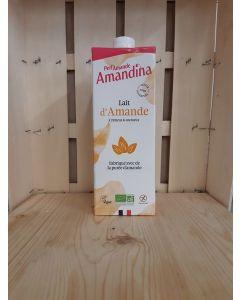 Lait d'amande Sans gluten Amandina 1L