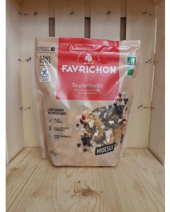 Muesli SuperFruit Equilibre 500g (certifié sans gluten) (12,60€/kg)
