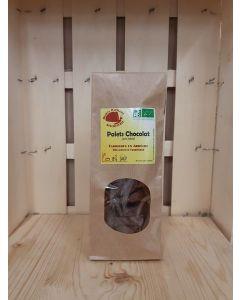 Palets chocolat 110g (29,09€/kg)