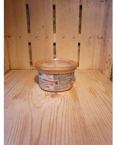 Rillette de truite fumée 120g (59,75€/kg)