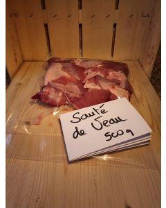 Sauté de veau env 500g (16,00€/kg)