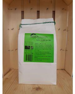 Farine de blé T55 1kg (2,00€/kg)