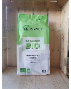 Farine de blé T80 1kg bise (2,20€/kg)