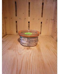Terrine de saumon fumé 120g (61,08€/kg)