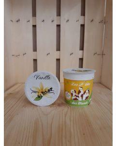 Yaourt de vache Vanille 125 gr (4,8€/kg)
